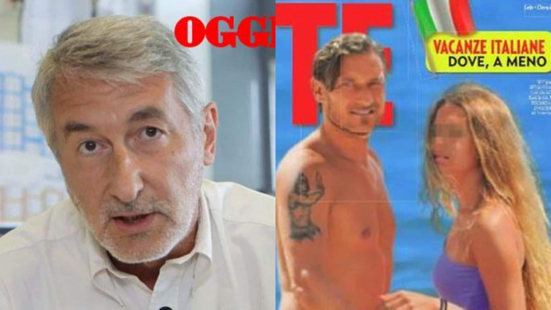 """La copertina con Chanel Totti non l'avrei fatta"""": parla il direttore di Oggi, Brindani"""